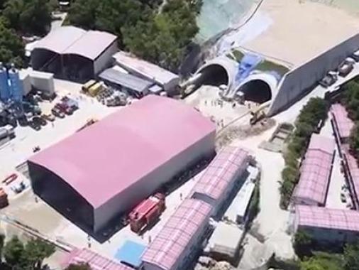 珠海隧道透水事故进展:被困14人距洞口1160米处
