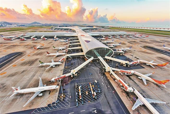 深圳宝安国际机场日客流最高10万人次