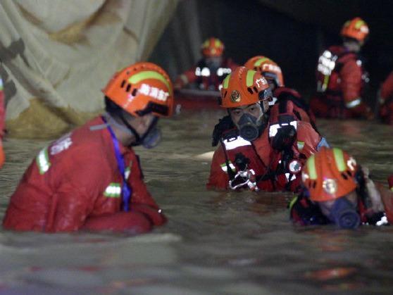 珠海透水事故已完成900多米隧道水域搜救,未发现被困人员
