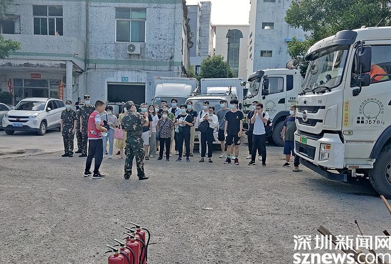 """培训+演练,龙城盛平社区给校外培训机构消防安全栓上""""双保险"""""""