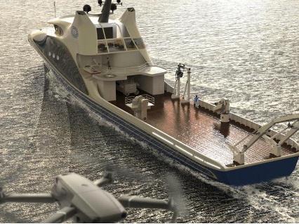 海洋科考重磅利器!中国首艘智能型无人系统母船开建