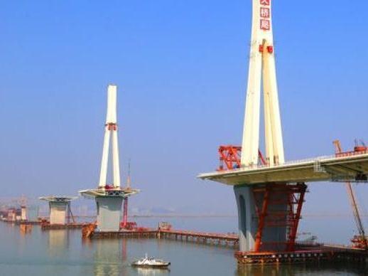 珠海金海大桥发生施工人员坠海事故