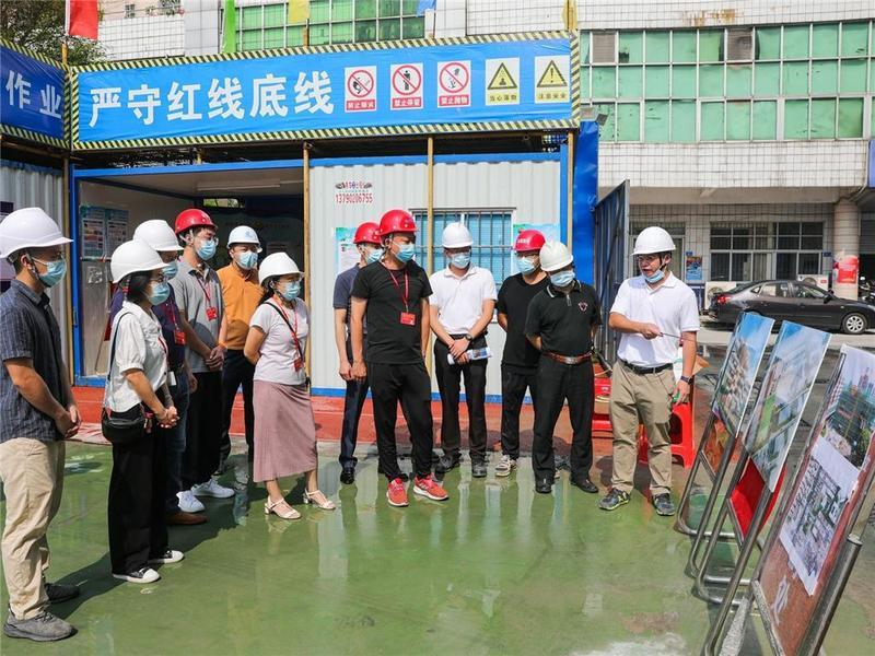 聚集民生问题!东莞市石龙镇人大代表调研在建工程