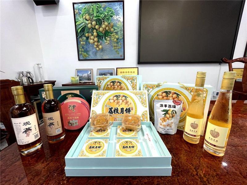 """东莞市开发出""""观音绿""""荔枝月饼系列产品"""