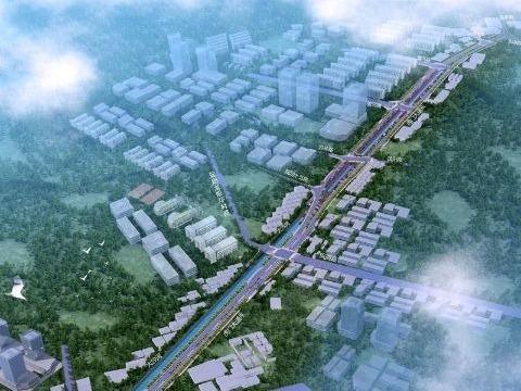 东莞市虎门大道东段即将动工,投资约3.69亿,工期预计两年