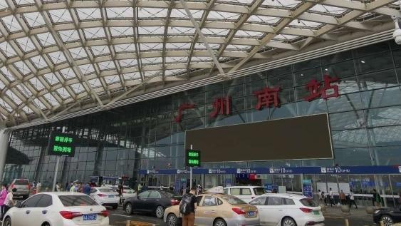 广州南站西广场出租车场将北迁