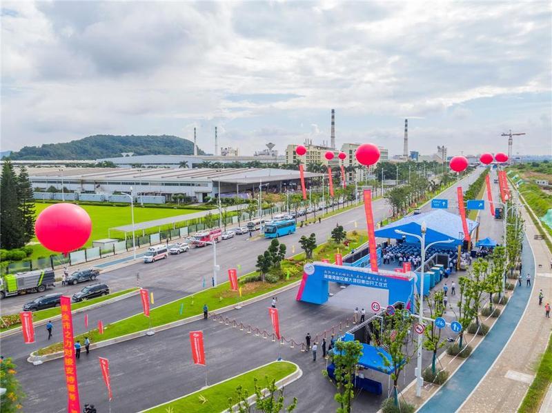 加快打造未来城市形象标杆!东莞滨海湾投资超百亿15个重大项目开工