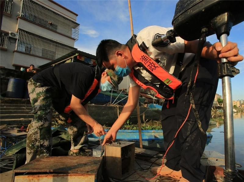 禁渔期虽结束,中山延续打击非法捕捞力度