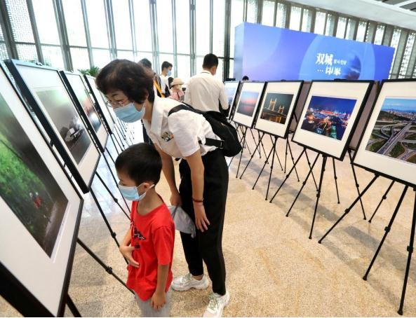 珠海市与韩国水原市缔结友好城市关系十五周年摄影展开幕
