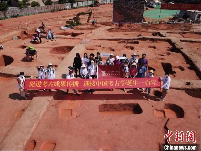 广州黄埔榄园岭遗址发现西周至春秋墓葬47座