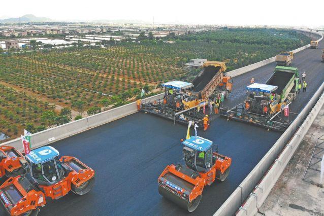 中山西环高速桥面工程启动,预计2022年完工通车