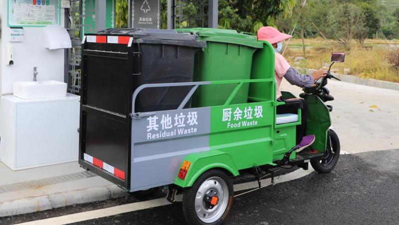 厨余垃圾不出村,广州今年建成200条生活垃圾分类样板村