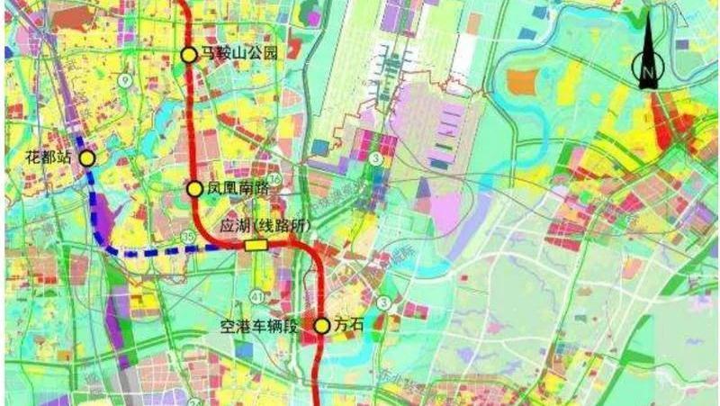 广州东至花都天贵城际9月开建!将实现市中心30分钟到机场