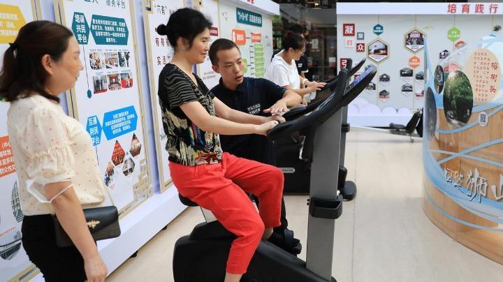 """珠海首批全民健身房开放!市民在家门口即可免费""""打卡"""""""