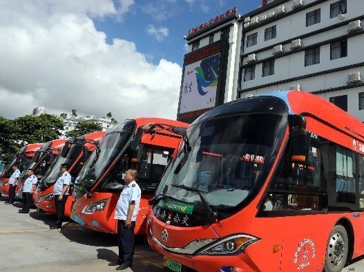 """""""小橙子""""巡城!20辆珠海文明宣传公交车上路!"""