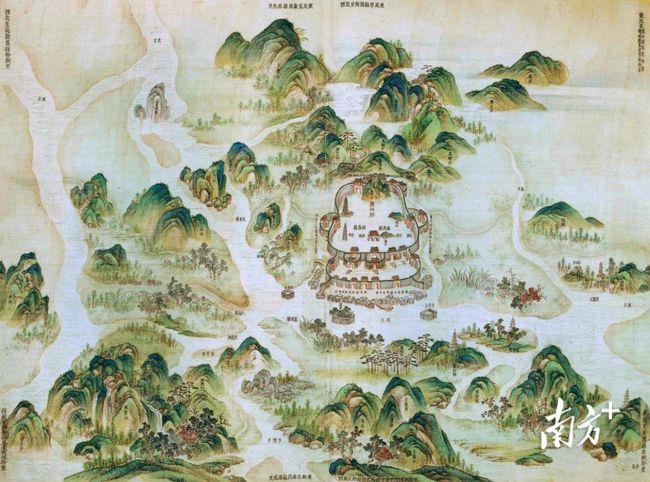 从0.05平方公里到7434平方公里,广州城市这样长大