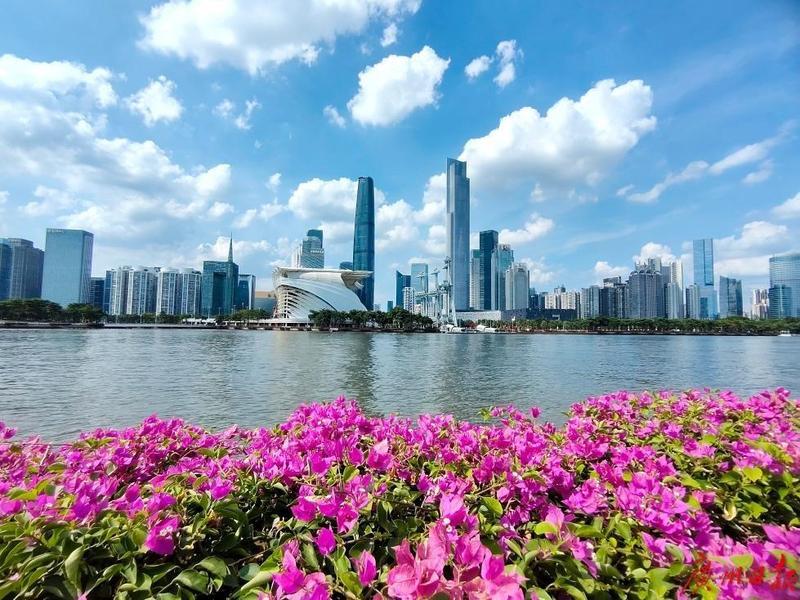 顶流广州 城市能级再提升