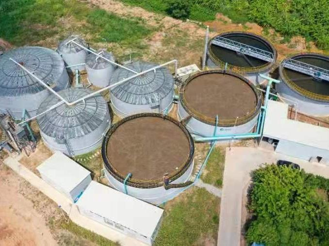 每天可处理1.3万吨!东莞市桥头镇污水处理项目有效改善水生态环境