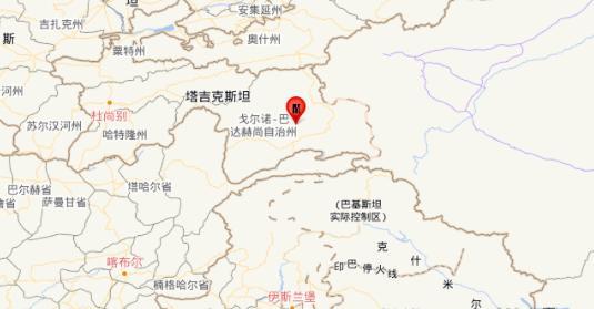 塔吉克斯坦发生5.7级地震,震源深度10千米