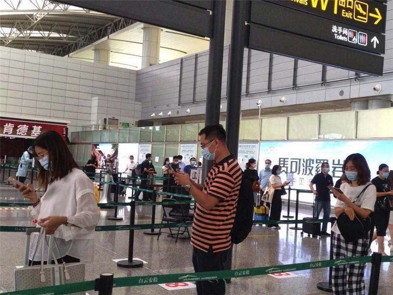 9月12日19:30起,福建飞来广州所有进港航班纳入重点管控