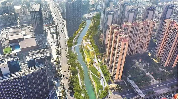 龙华河油松河碧道开工 预计今年底完成示范段建设