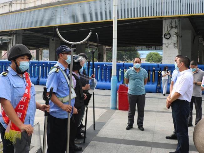 保障出行安全!天河站组织开展节前安全生产工作检查