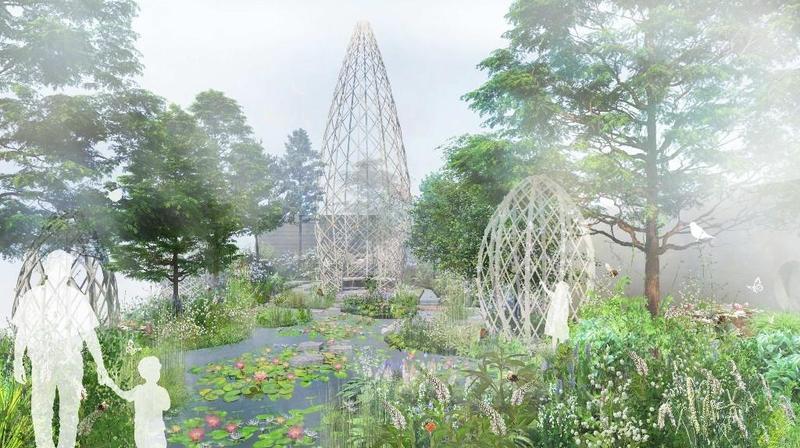 """""""广州花园""""将亮相切尔西花展,山水花城演绎人与自然和谐共生"""