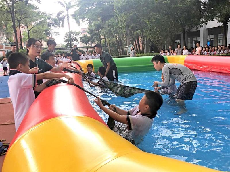 理论+实操!体验式防溺水教育走进东莞市校园