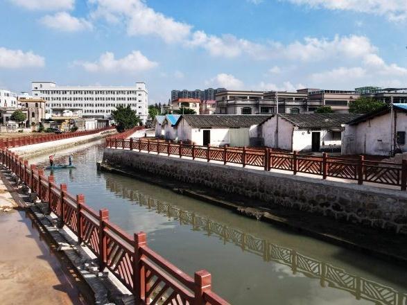 垃圾没了,水质清了,环境美了!中山市大涌镇基尾涌未达标水体整治提升工程初见成效