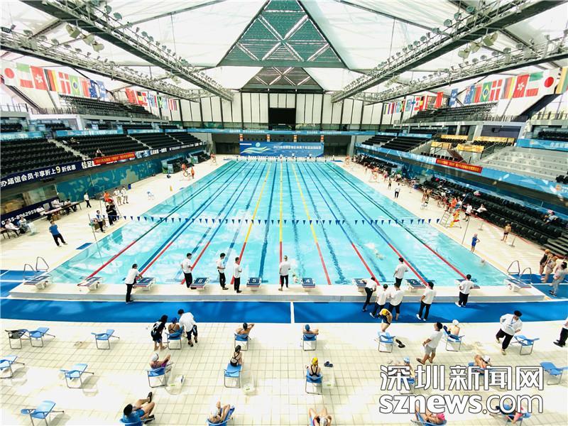 """300多位青少年游泳锦标赛 游泳小将角逐龙岗区""""体彩杯"""""""