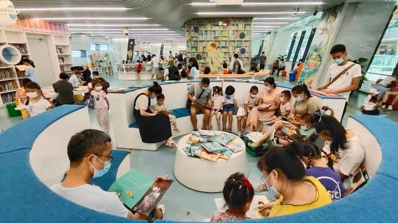 8万人一座图书馆,广州公共图书馆达到1699个