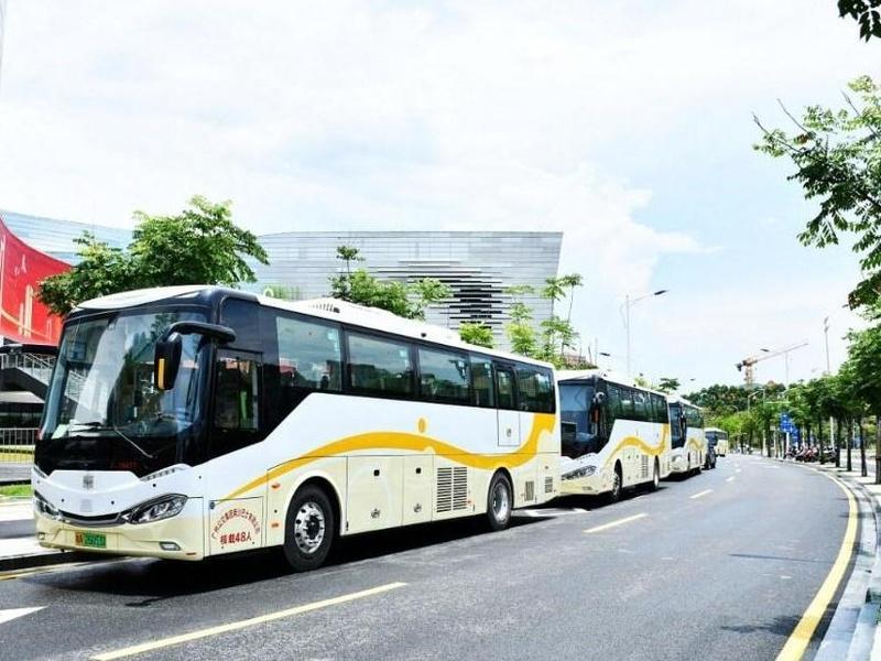 国庆期间,广州地铁18号线南沙湿地景区直达接驳车开通