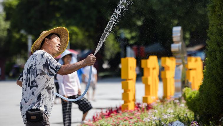 广州最高气温连续10天超34℃,周四起雷雨活跃