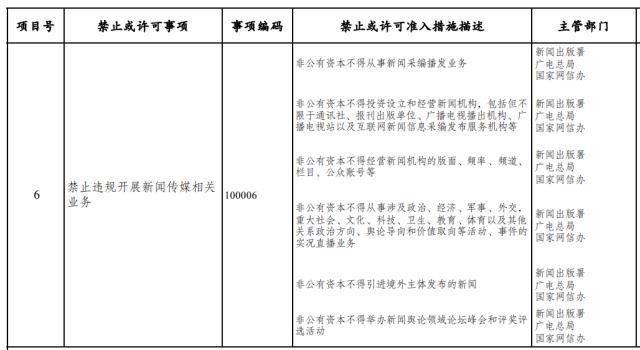 发改委征求意见:非公有资本不得从事新闻采编播发业务