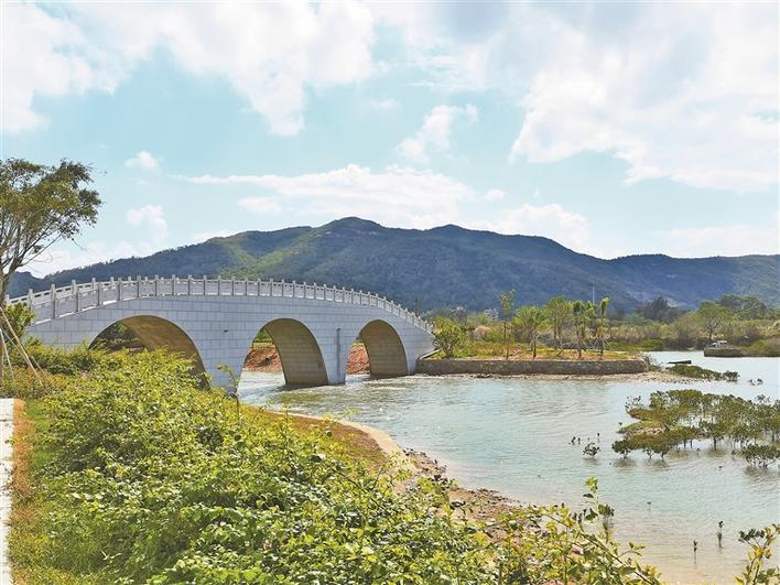 七娘山下湿地公园开放 公园内8座新桥邀您起名