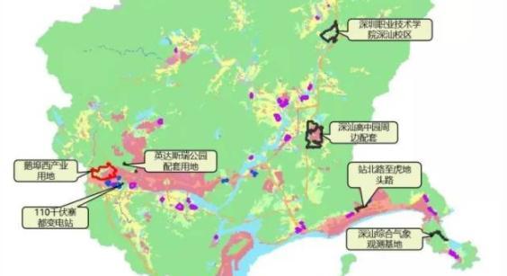 深汕合作区落实城乡建设用地212公顷,涉及深职院深汕校区等重大项目