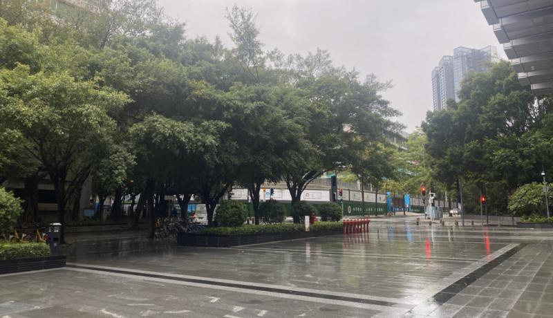 深圳暴雨黄色预警解除台风蓝色预警仍生效中 13日夜间有间歇性阵雨