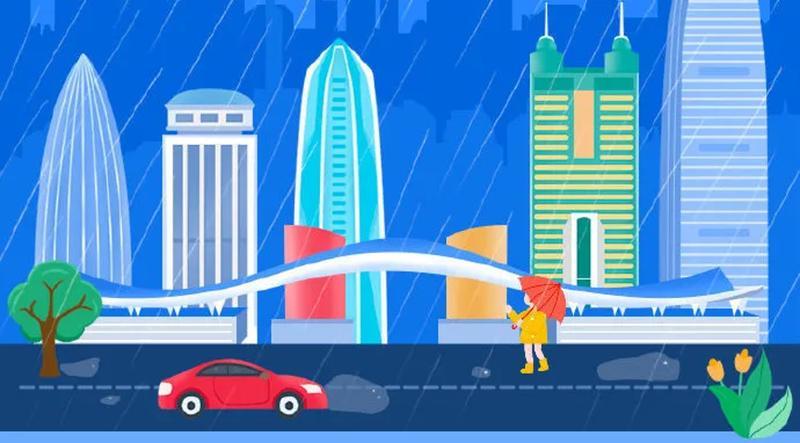 刚刚!深圳市分区发布红色暴雨预警,防御指引在这里