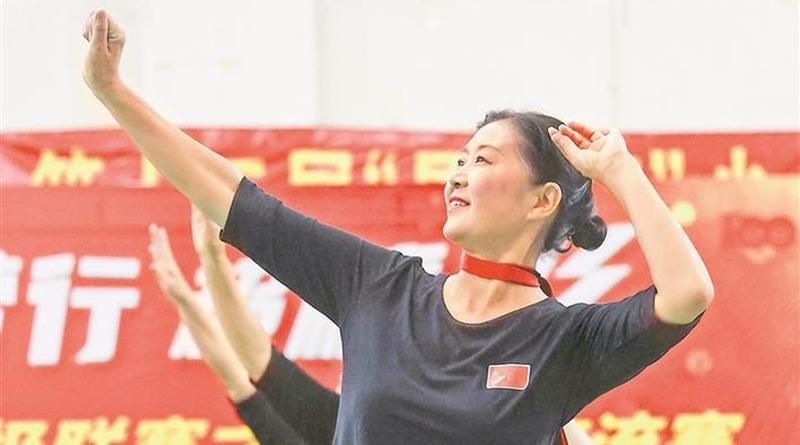 福田超级联赛广场舞活动精彩上演 352名选手舞动新生活