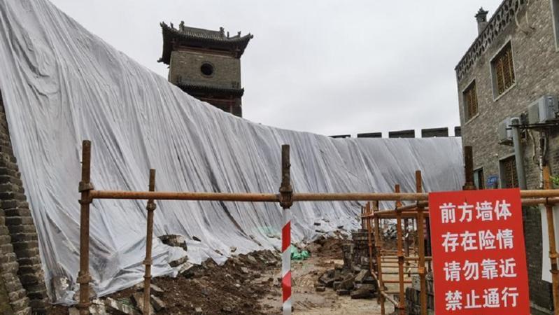 1700余处出现险情!山西如何抢救暴雨中受损的文物?