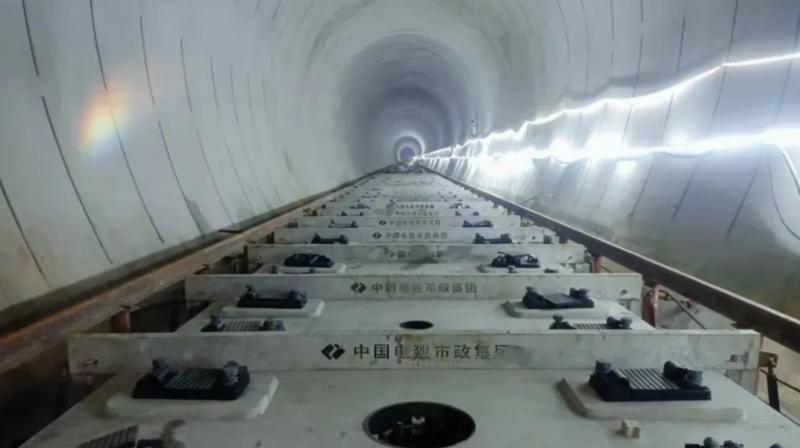 深圳地铁12号线轨道铺设已完成约四成 预计2022年建成通车!