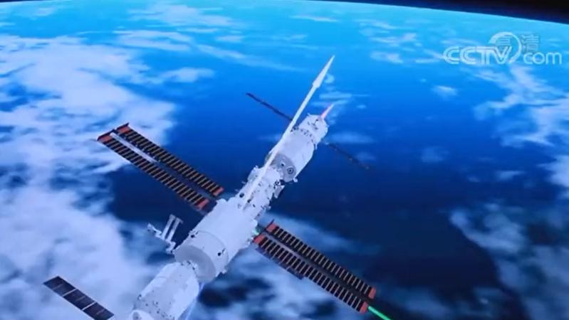"""太空""""拆快递""""前,叶光富这个举动亮了"""