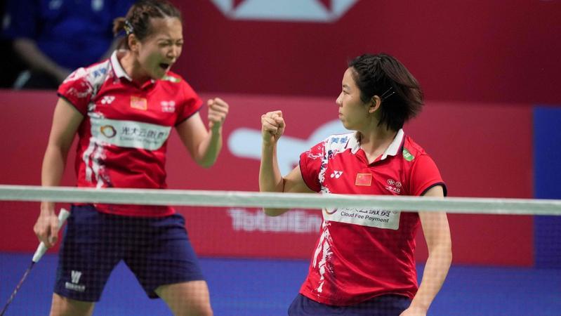中国队3:1胜日本队 第15次赢得尤伯杯冠军