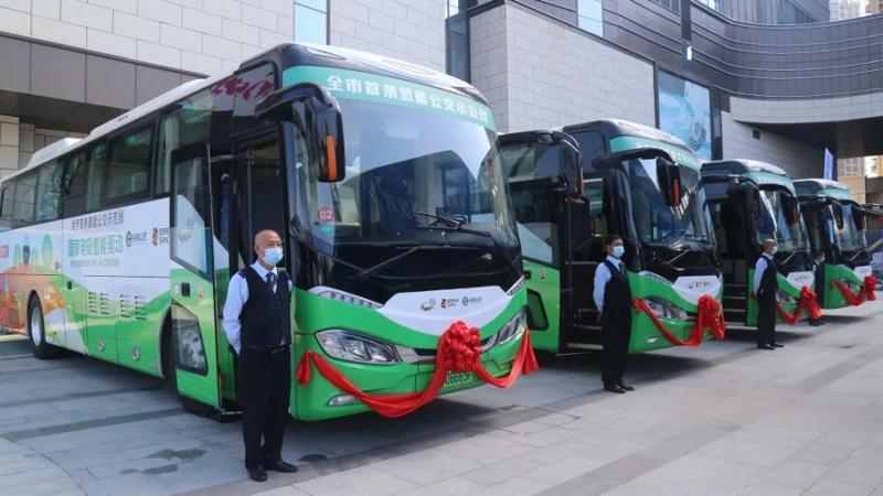加氢20分钟,续航650公里!深圳首条氢能公交示范线来了!