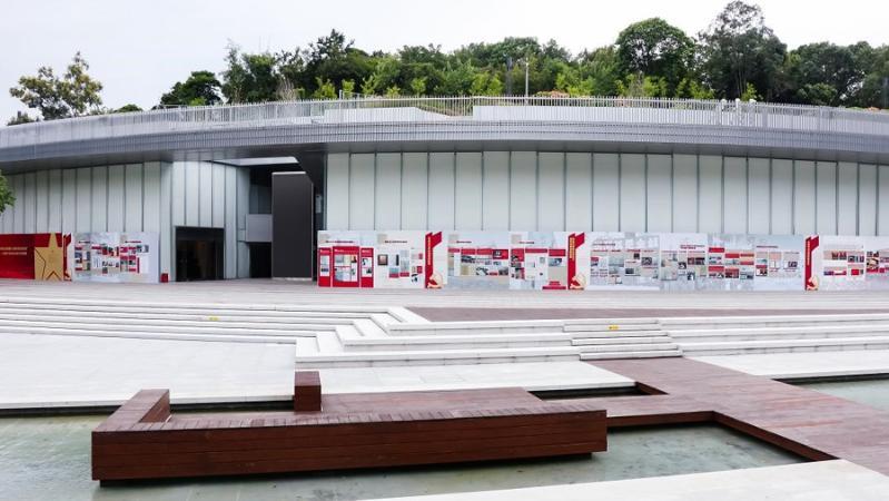 民法公园举办深圳首个百年法治党史学习成果展