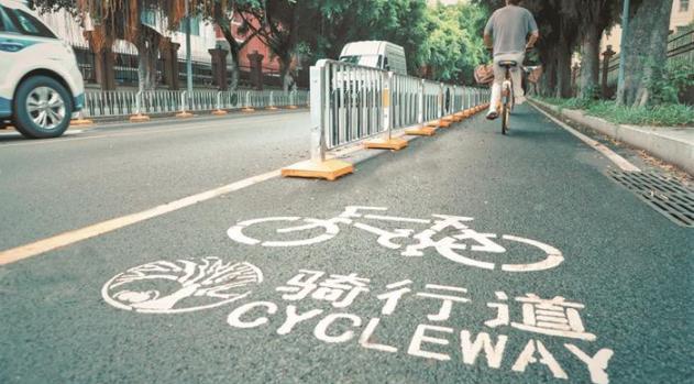 深圳:全市新建成293公里非机动车道