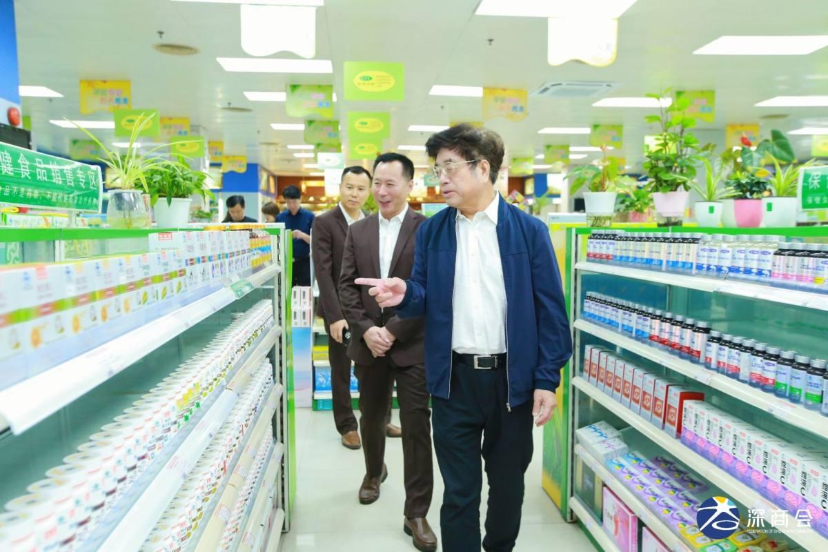 """""""深圳老字号""""评审团到访永安堂大药房、名典咖啡进行参观交流"""