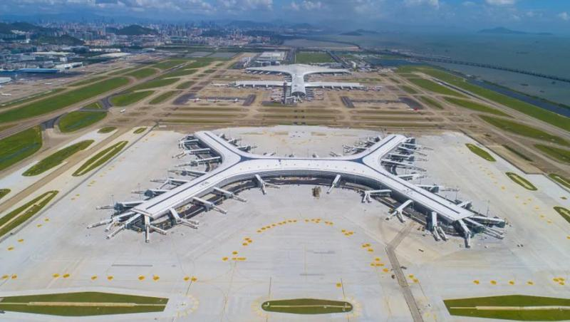 深圳机场卫星厅11月底将正式亮相 与T3航站楼间建设行李处理系统