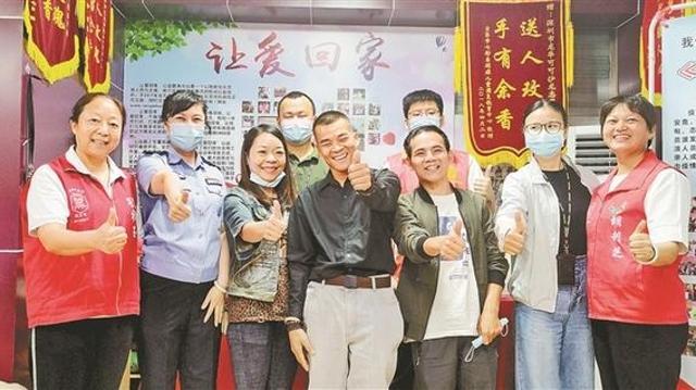 深圳爱心接力不放弃 流浪21年,小伙终与亲人团聚