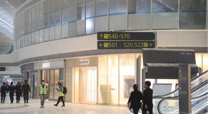 深圳机场卫星厅开展第二次综合演练 预计11月底正式启用